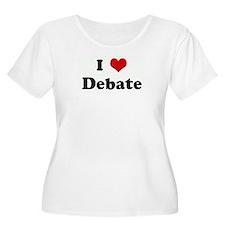 I Love Debate T-Shirt