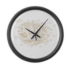 Wash Me Large Wall Clock