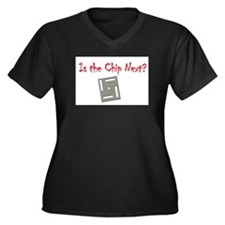 Unique Nostradamus Women's Plus Size V-Neck Dark T-Shirt