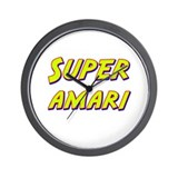 Super amari Wall Clock