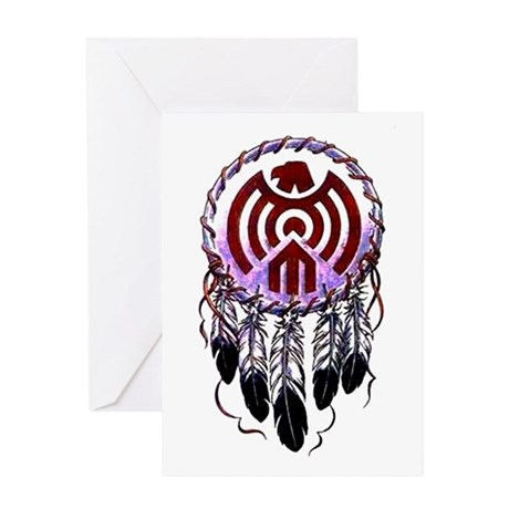Native American Dreamcatcher Greeting Card