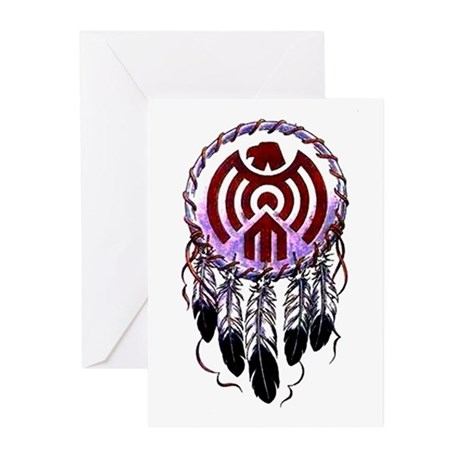 Native American Dreamcatcher Greeting Cards (Pk of
