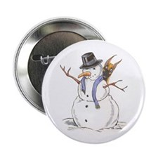 "CF Snowman 2.25"" Button (100 pack)"