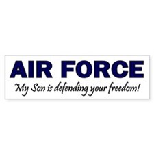 Air Force Son Defending Bumper Bumper Sticker