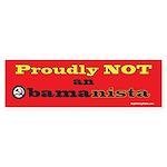 Obamanista Bumper Sticker (10 pk)