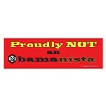 Obamanista Bumper Sticker (50 pk)