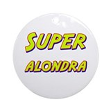 Super alondra Ornament (Round)