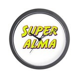Super alma Wall Clock