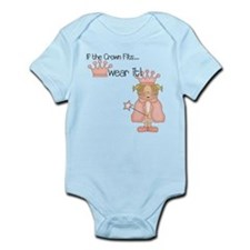 If the Crown Fits Princess Infant Bodysuit