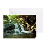 Buckeye Creek Falls Greeting Card