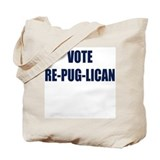 Unique Vote tote Tote Bag