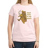 Mud Runs In My Veins T-Shirt
