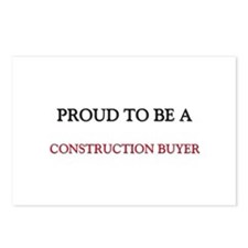 Proud to be a Construction Buyer Postcards (Packag