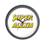 Super alexia Wall Clock