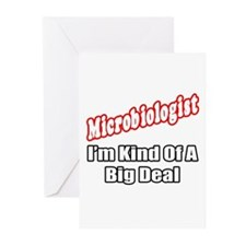 """Microbiologist...Big Deal"" Greeting Cards (Pk of"