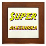 Super alexandra Framed Tile