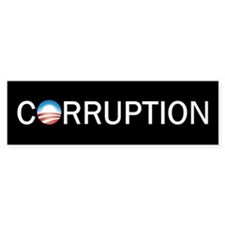 Corruption Bumper Bumper Sticker