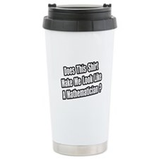 """Look Like a Mathematician?"" Ceramic Travel Mug"