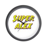 Super alex Wall Clock