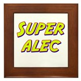 Super alec Framed Tile