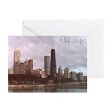 Chicago Skyline Greeting Cards (Pk of 20)