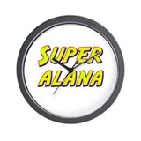 Super alana Wall Clock