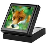 RED FOX Keepsake Box