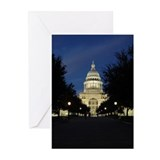 Austin Texas Capitol Greeting Cards (Pk of 10)