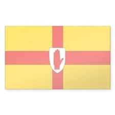 """Ulster Provincial Flag"" Rectangle Decal"