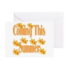 Coming This Summer Greeting Cards (Pk of 20)