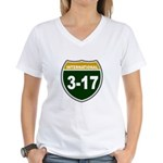 I-317 Women's V-Neck T-Shirt