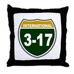 I-317 Throw Pillow