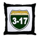 I-317 Throw Pillow