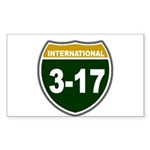 I-317 Rectangle Sticker 50 pk)