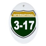 I-317 Oval Ornament