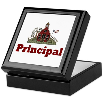 School Principal Keepsake Box
