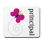 Cute Principal Mousepad