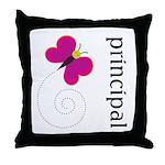 Cute Principal Throw Pillow
