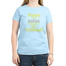 Happy Hanukah Menorah T-Shirt
