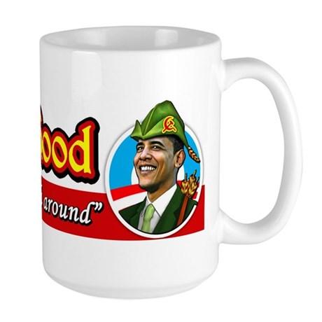 ObamaHood Spread the Wealth Large Mug