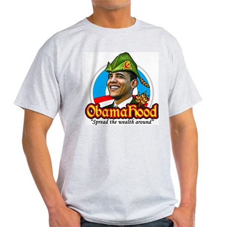ObamaHood Spread the Wealth Light T-Shirt