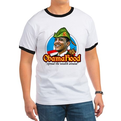 ObamaHood Spread the Wealth Ringer T