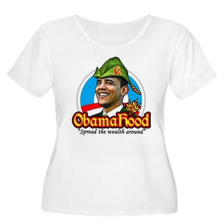 ObamaHood Spread the Wealth Women's Plus Size Scoo