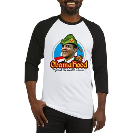 ObamaHood Spread the Wealth Baseball Jersey