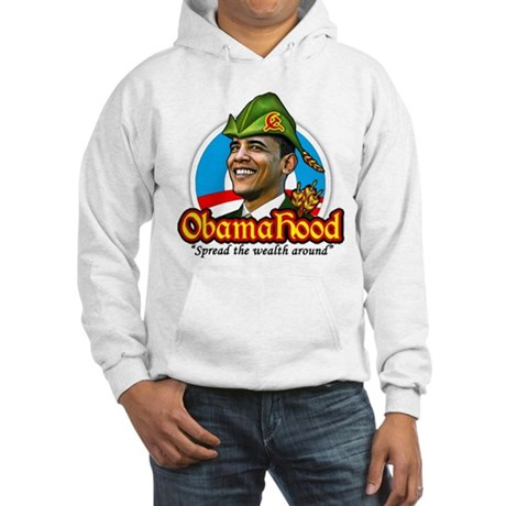 ObamaHood Spread the Wealth Hooded Sweatshirt
