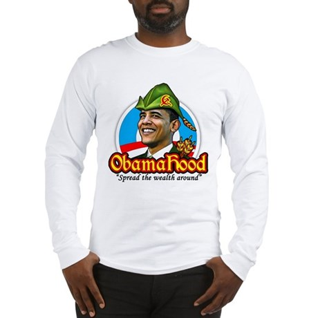 ObamaHood Spread the Wealth Long Sleeve T-Shirt