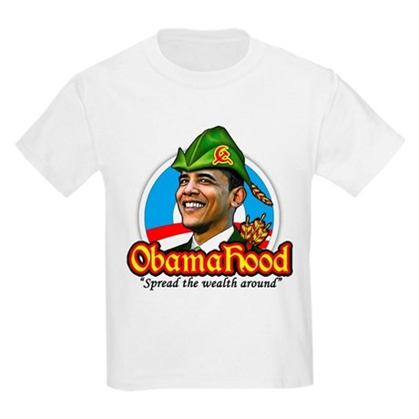 ObamaHood Spread the Wealth Kids Light T-Shirt