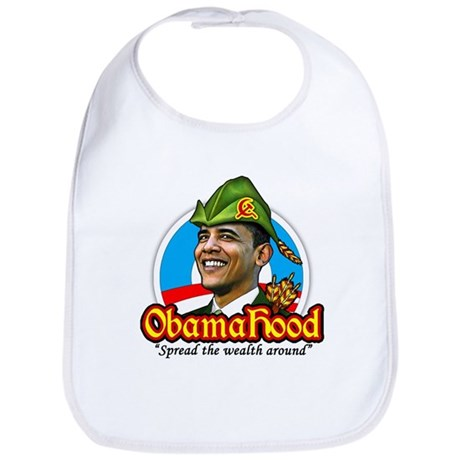 ObamaHood Spread the Wealth Bib