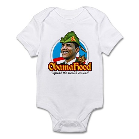 ObamaHood Spread the Wealth Infant Bodysuit