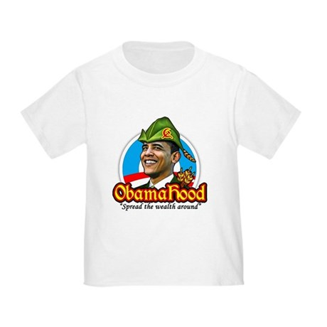 ObamaHood Spread the Wealth Toddler T-Shirt